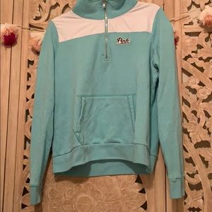 Other - Pink by VS half zip sweater